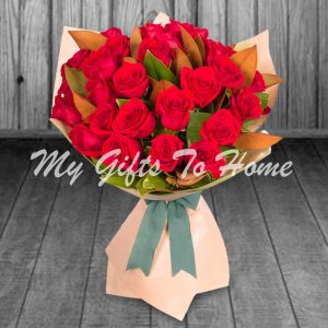 2 Dozen Red Roses Bunch