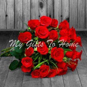 3 Dozen Red Roses Bunch