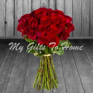 36 Red Roses Bunch