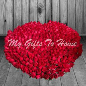 400 Red Roses
