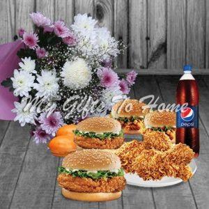 Burger Flowers