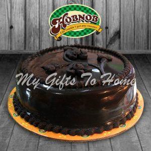 Chocolate Vanila Ice Cake From Hobnob