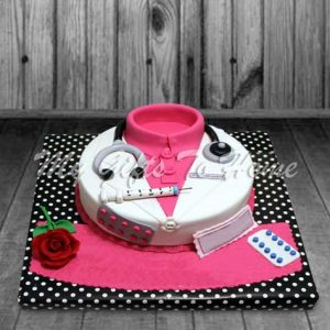 Dr Birthday Cake