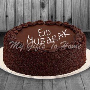 Eid Mubarak Chocolate Cake