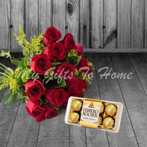 Ferrero with Roses