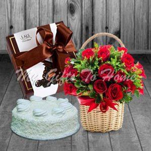 Choco Flowers