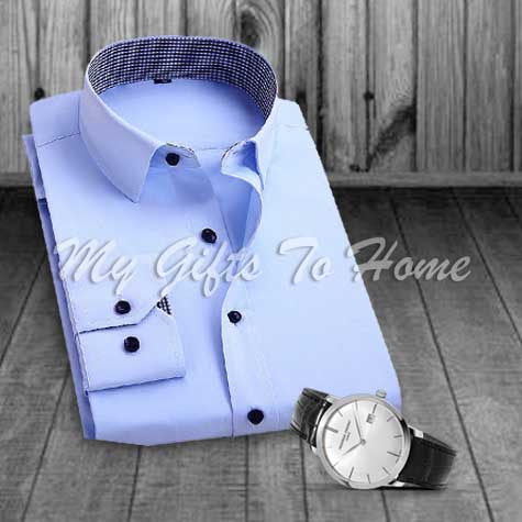 Watch and Shirt