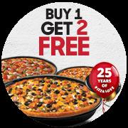 Pizza Hut Buy 1 Free 2