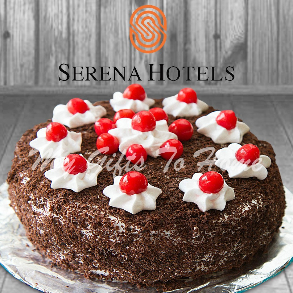 Black Forest Cake From Sarena Hotel