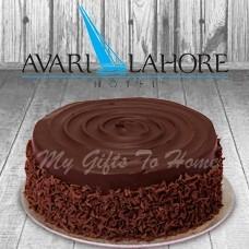 Chocolate Fudge Cake From Avari Hotel