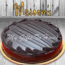 Chocolate Fudge Cake From Masooms Bakery