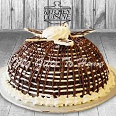 Chocolate Ice Cream Bombe Cake From Kitchen Cuisine