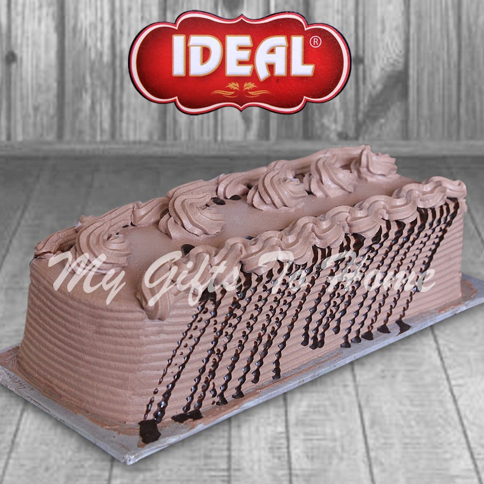 Chocolate Log Cake From Ideal Bakery
