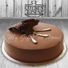 Chocolate Mousse Layer Cake From Kitchen Cuisine