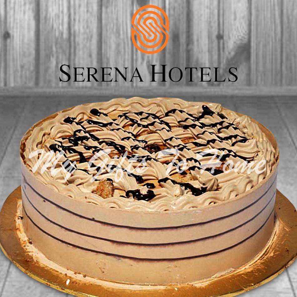 Coffee Crunch Cake From Sarena Hotel