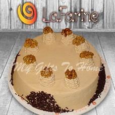 Coffee Walnut Cake From La Farine