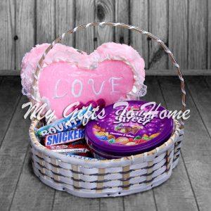 Cushion Choco Basket