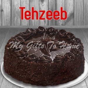 Dark Chocolate Cake From Tehzeeb Bakery