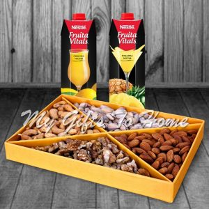 Dry Fruit With Nestle Juices
