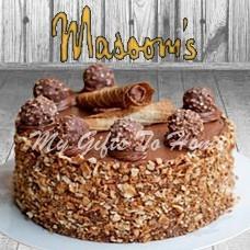 Ferrero Rocher Cake From Masoom Bakery