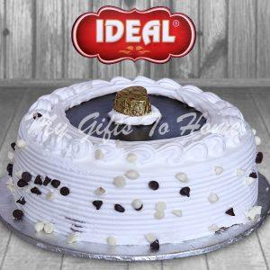 Fresh Cream Black Forest Cake From Ideal Bakery