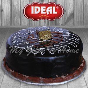 Fresh Cream Fudge Cake From Ideal Bakery
