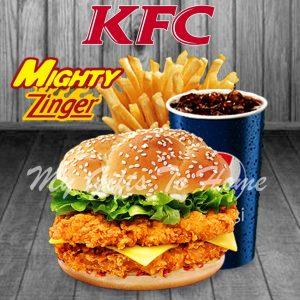 KFC Mighty Zinger Combo