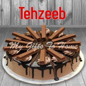 Kit Kat Cake From Tehzeeb Bakery