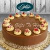 Milk Chocolate Cake From Gelato Affair