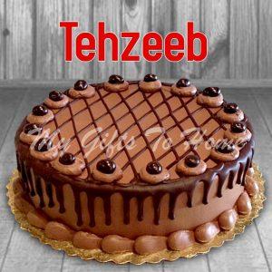 Mocha Chocolate Cake From Tehzeeb Bakery