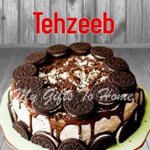 Oreo Caramel Cake From Tehzeeb Bakery