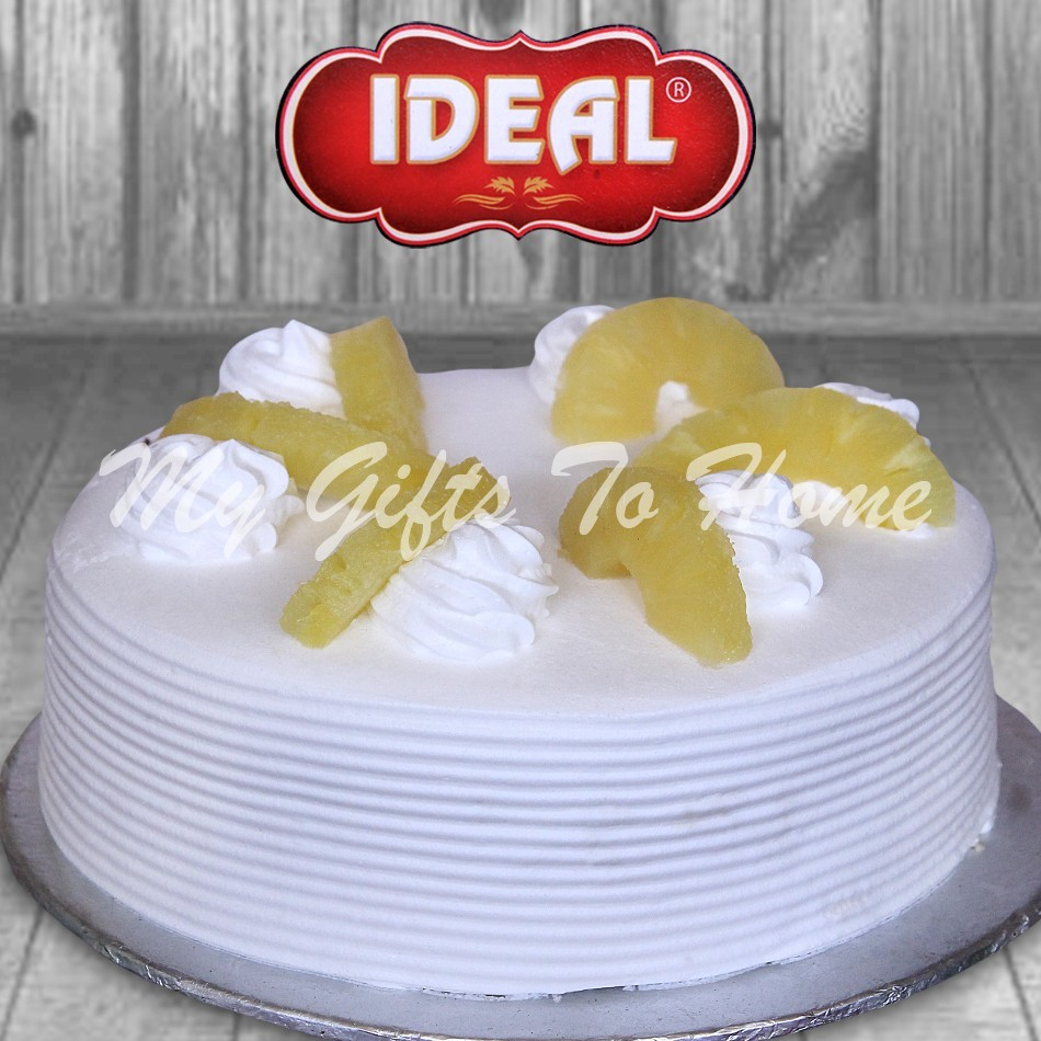 Pineapple Cake From Ideal Bakery