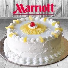 Pineapple Cake From Marriott