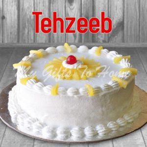 Pineapple Cake From Tehzeeb Bakery