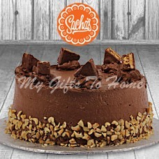 Snickers Cake From Sachas