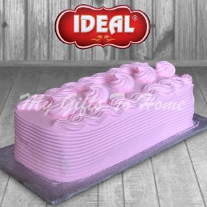 Strawberry Log Cake From Ideal Bakery