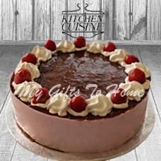 Strawberry Mousse Cake From Kitchen Cuisine