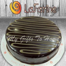 Toffee Brownie Cake From La Farine