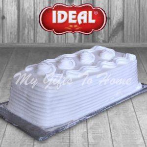 Vanilla Log Cake From Ideal Bakery