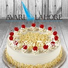 White Forest Cake From Avari Hotel