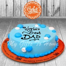 World Best Dad Cake From Sachas