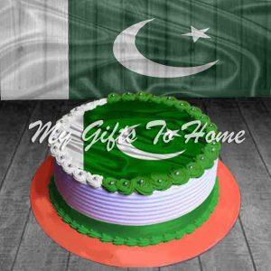 Pakistan Day Cake