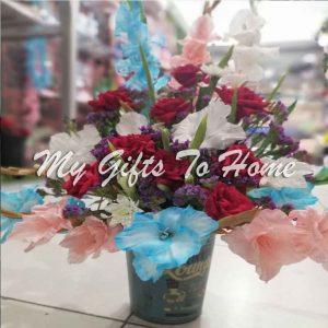 Elegance Flowers Bucket